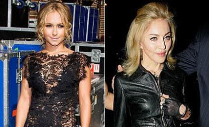 Celebrity Fashion Face-Off: Hayden Panettiere vs. Madonna