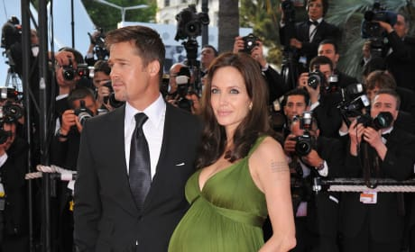 Brad Pitt Angelina Jolie Cannes Film Festival 2006.