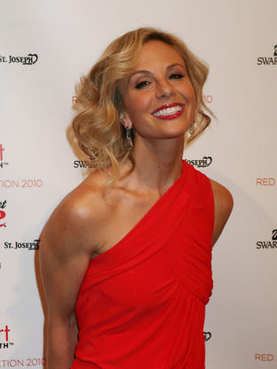 Elisabeth Hasselbeck at Fashion Week