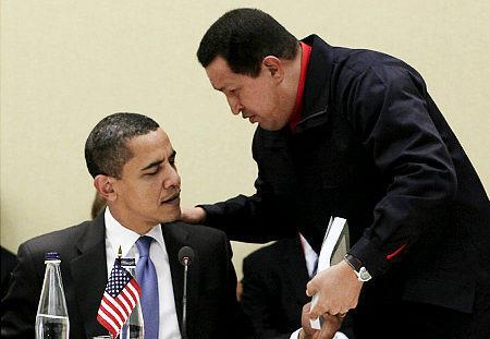 Chavez and Obama