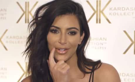 Kim Kardashian Talks Beauty, Fashion