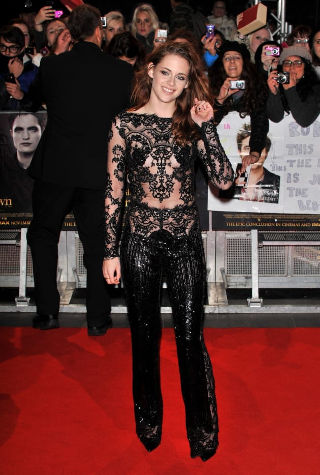 Kristen Stewart on the Red Carpet