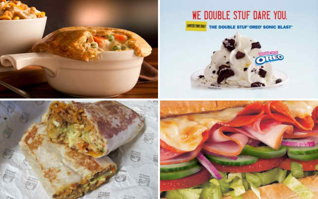 13 fast food menu items that will decrease your life span chicken pot pie from kfc