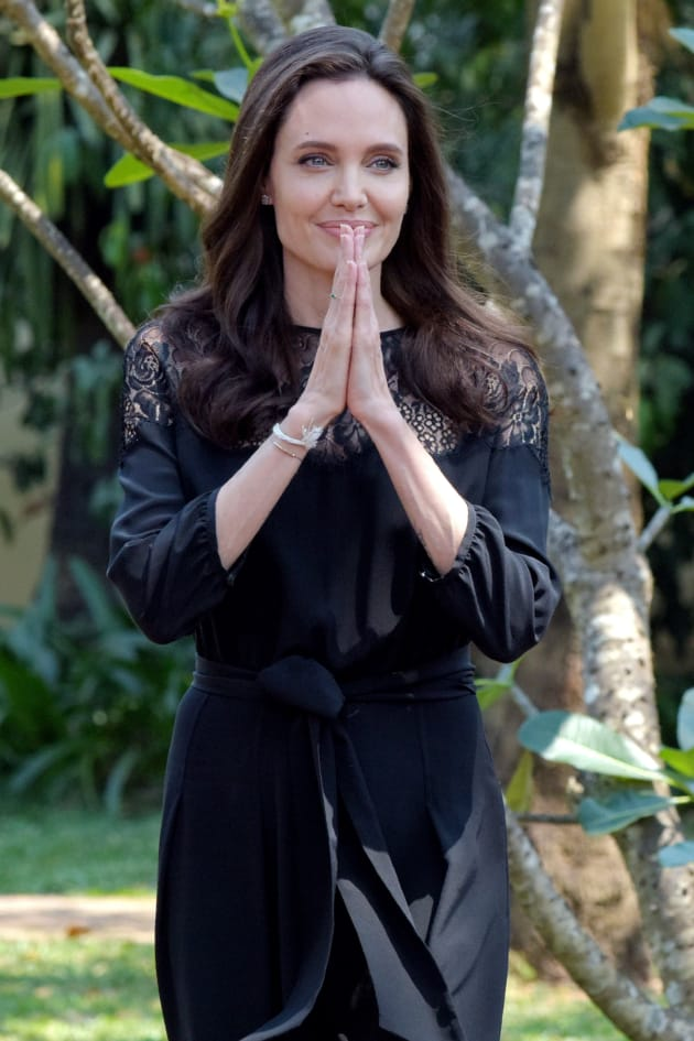 Angelina Jolie in Cambodia