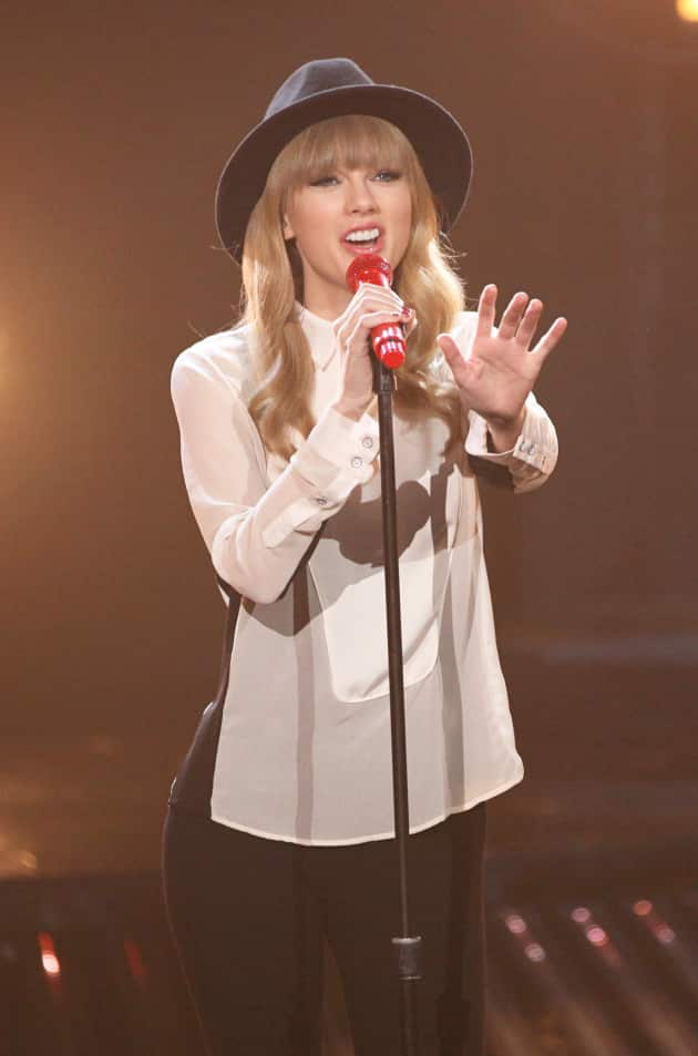 Taylor on The X Factor