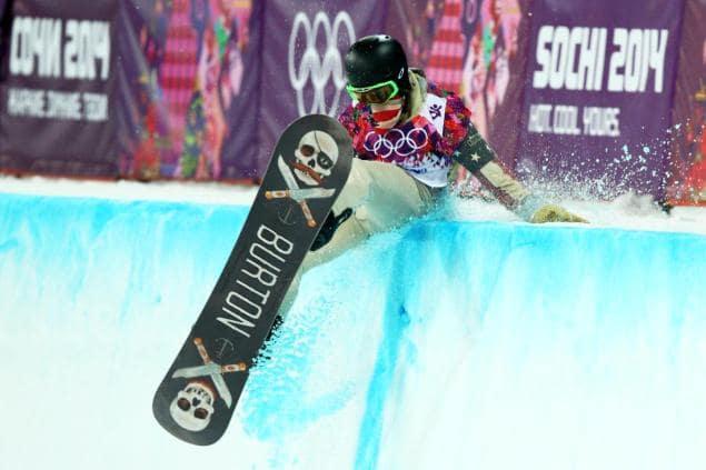 Shaun White Falls at Olympics