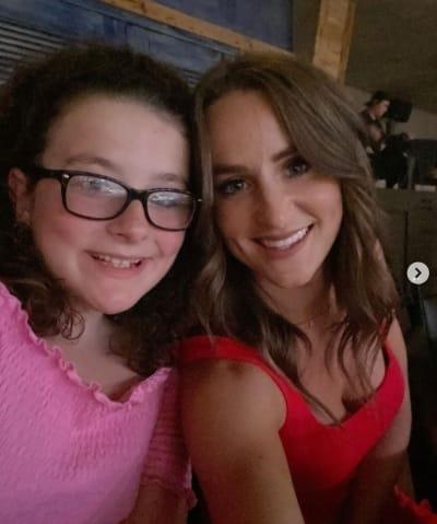 Leah and Ali Selfie