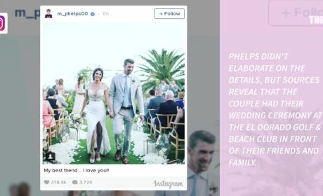 Michael Phelps and Nicole Johnson: Wedding Photos!