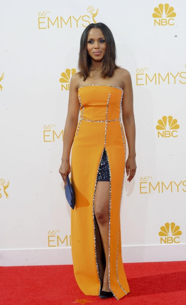 Kerry Washington at the 2014 Emmys
