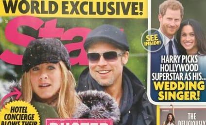 Brad Pitt & Jennifer Aniston: Reunited?! ENGAGED?!?!