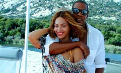Beyonce Cuddles with Jay Z, Flaunts Banging Bikini Body