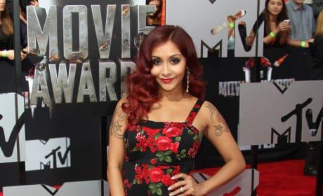 Snooki at MTV Movie Awards
