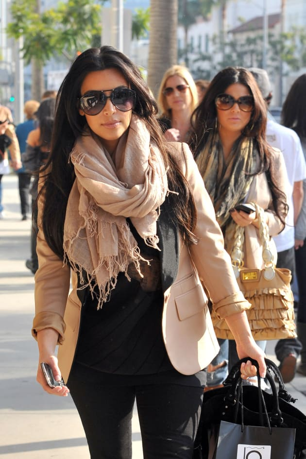 Kim Kardashian in Beverly Hills