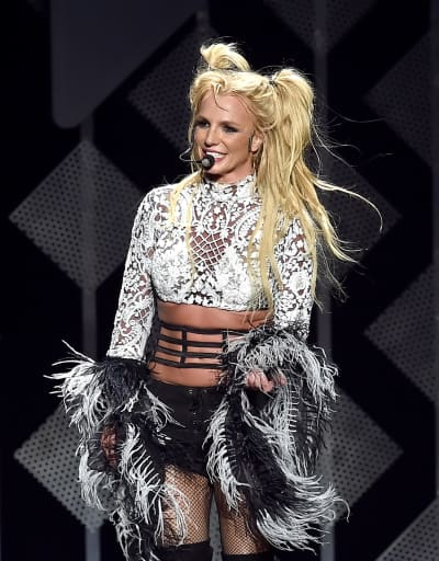 Britney Spears at the Jingle Ball
