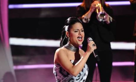 Pia Toscano on Idol