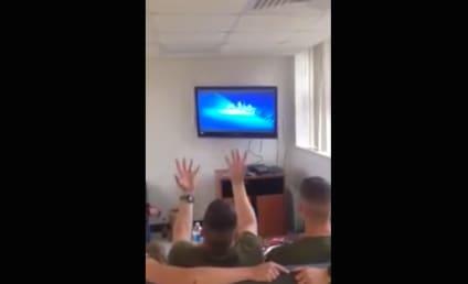 "U.S. Marines Make Like Elsa, Sing ""Let It Go"""