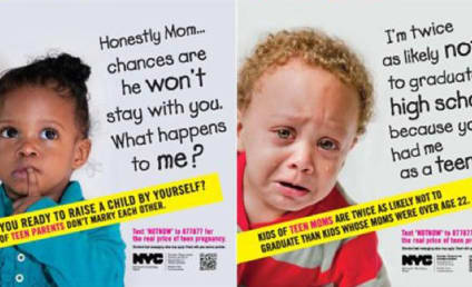 NYC Subway Ads Put Shameful Face on Teen Pregnancy