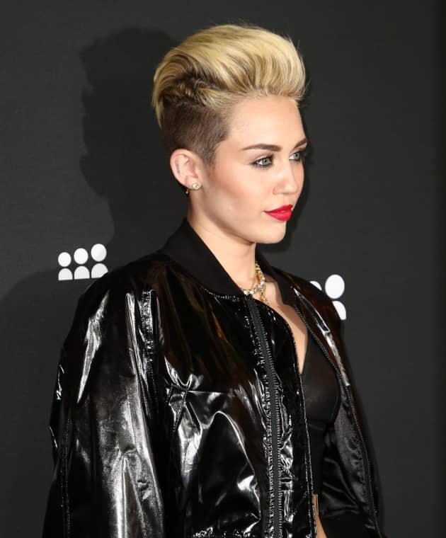 Miley Cyrus Punk Style