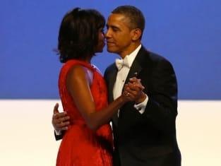 Michelle Obama Inaugural Ball Photo