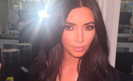 Kim Kardashian Reveals Selfie Book Cover: So... Much... Cleavage!