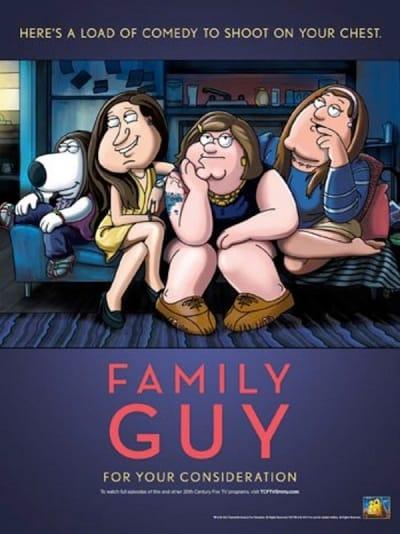 Family Guy Emmy Ad