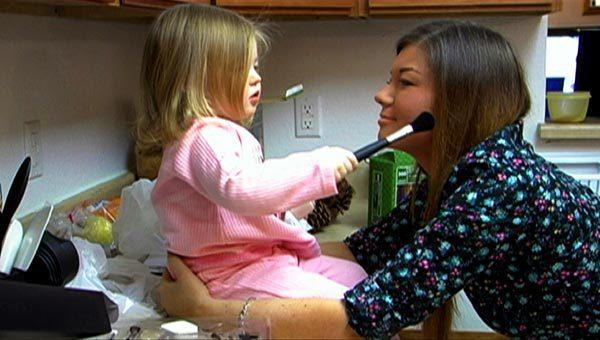 Leah and Amber Photo