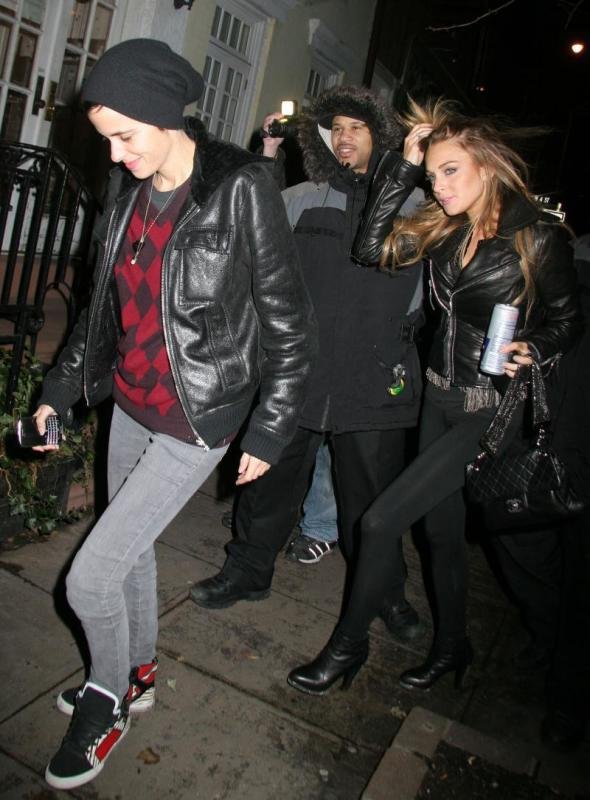 Lindsay Lohan and Samanta Ronson