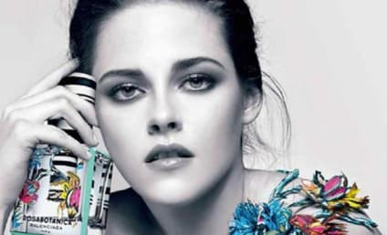 Kristen Stewart: Topless in New Fragrance Ad!