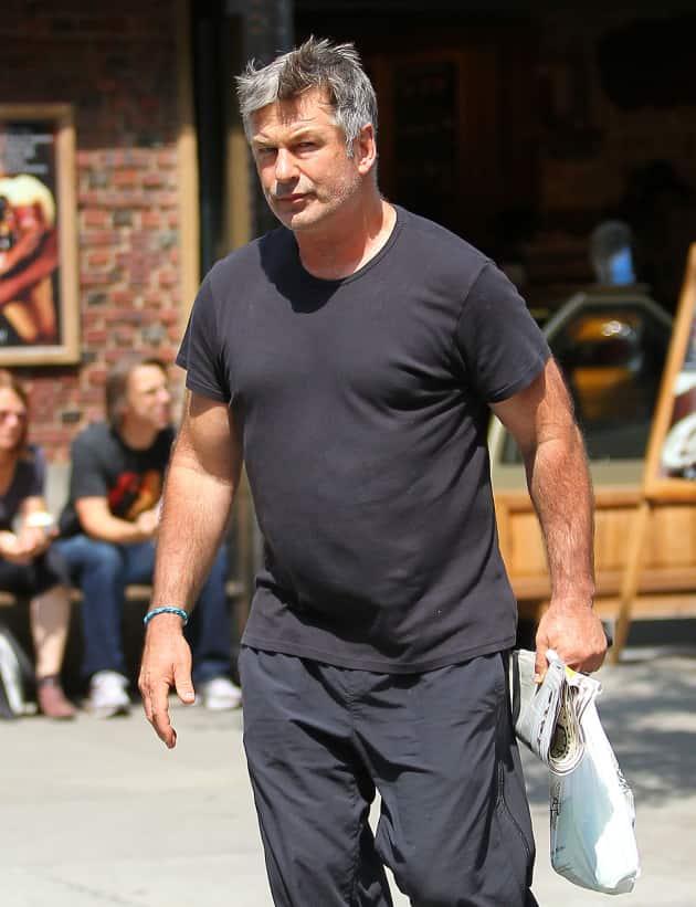 Alec Baldwin on the Street