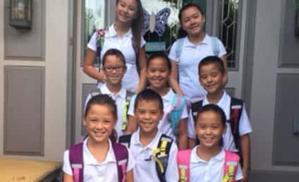 Kate Gosselin's Kids: Looking HUGE in First Day of School Pic!