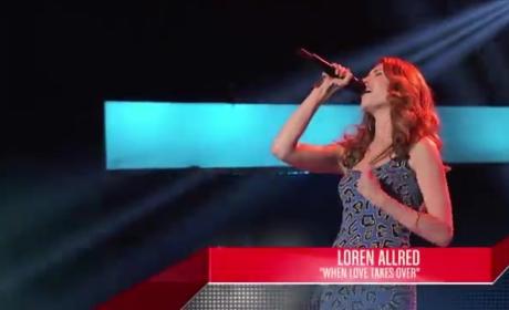 Lisa Scinta, Marissa Ann and Loren Allred - The Voice Blind Auditions