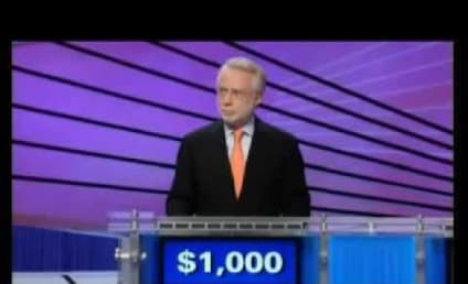 Wolf Blitzer on Jeopardy: Not Smart