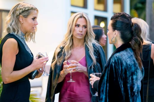 Dorit Kemsley, Teddi Mellencamp and Kyle Richards Have Drinks