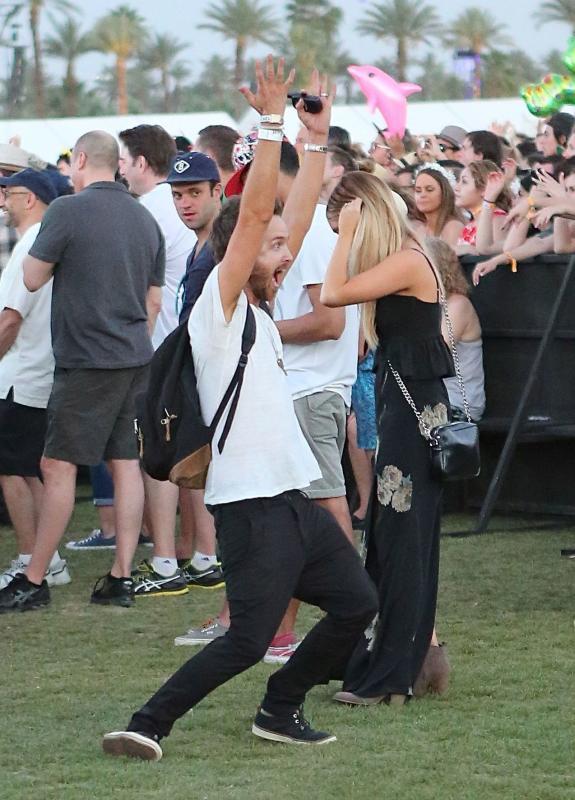 Aaron Paul at Coachella