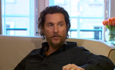 Matthew McConaughey Talks Gold