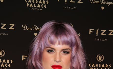 Serious Kelly Osbourne