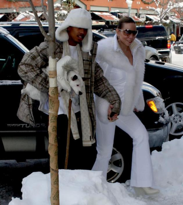 Mariah Carey and Nick Cannon Photo