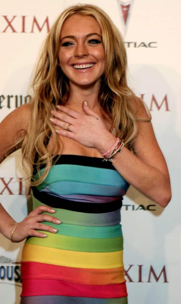 Cute Lindsay Lohan Photo