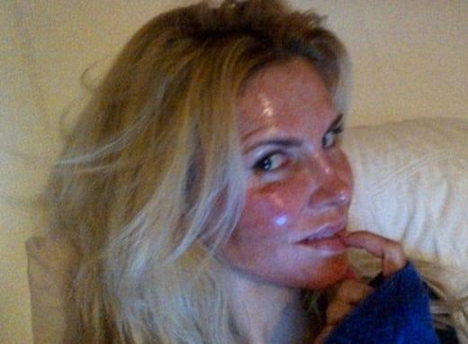 Brandi Glanville Face