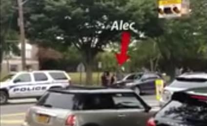 Alec Baldwin SWARMED By Police in the Hamptons! Watch the Video Now!