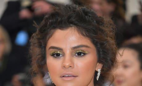 Selena Gomez at the MET