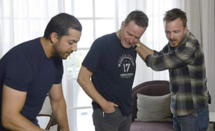 David Blaine Does Magic, Celebrities React in Shock