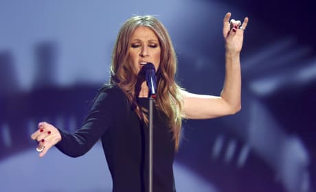 Celine Dion on Stage
