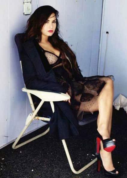 Demi Lovato Elle Photo