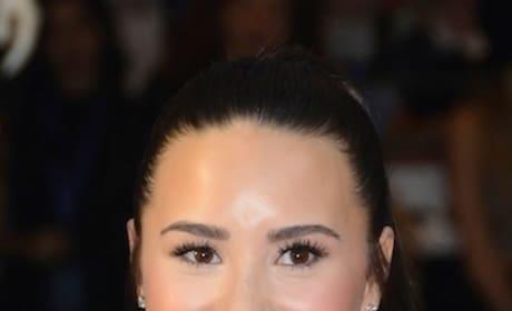 Demi Lovato with a Smile