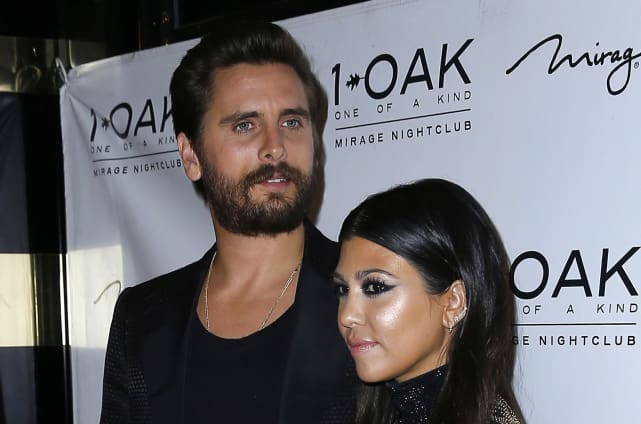 Kourtney and scott split