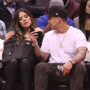 Rob Kardashian and Khloe Kardashian