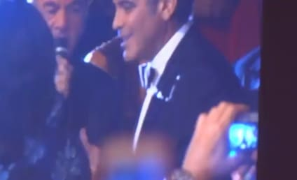 "George Clooney Duets on ""Sweet Caroline"" with Neil Diamond, Remains Awesome"