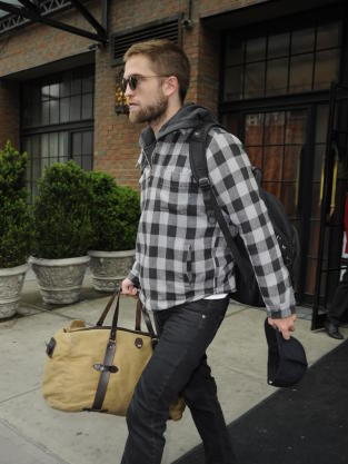 Robert Pattinson in New York