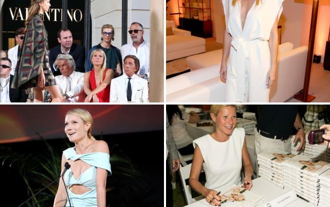 Gwyneth paltrow valentinos mirabilia romae haute couture collect